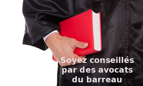 avocat du barreau à Rimouski en contestation de contravention